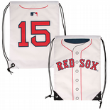 Boston Red Sox, Dustin Pedroia #15, Drawstring Backpack